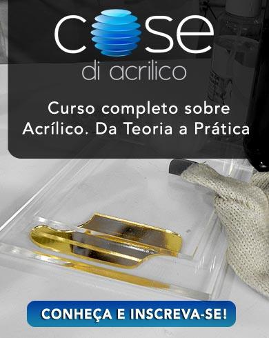 Banner Cose di Acrilico Conteúdo
