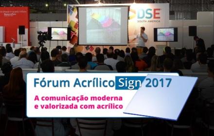 Fórum Acrílico 2017
