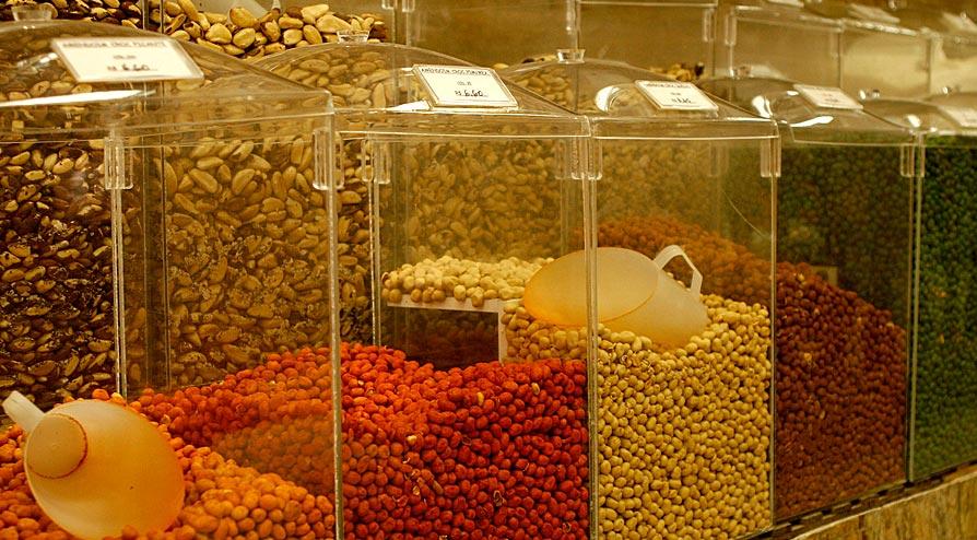 Recipiente de Alimentos em Acrílico