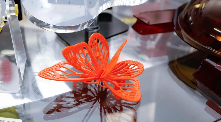 Pequenos detalhes para decoração: a borboleta laranja. (Foto: Lenara Petenuzzo/especial)